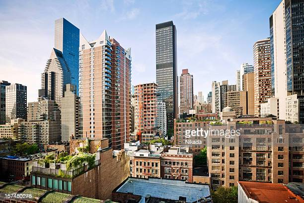 new york city - penthouse stock pictures, royalty-free photos & images