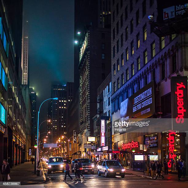 new york city - 7th avenue stock pictures, royalty-free photos & images