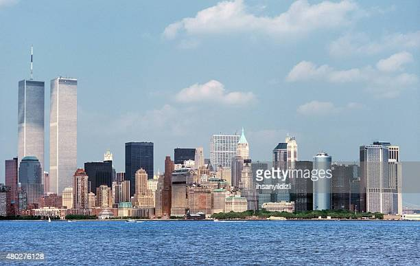 new york city - on this day september 11 attacks stock pictures, royalty-free photos & images
