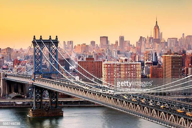 new york city - brooklyn new york stock-fotos und bilder
