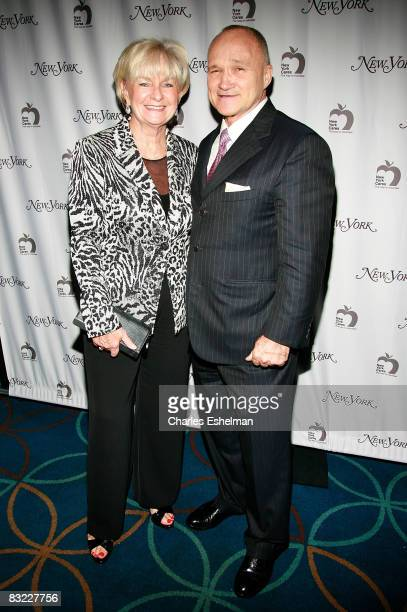 New York City Police Commissioner Ray Kelly and wife attend the New York Magazine's 40th Anniversary event at Hammerstein Ballroom on October 10 2008...