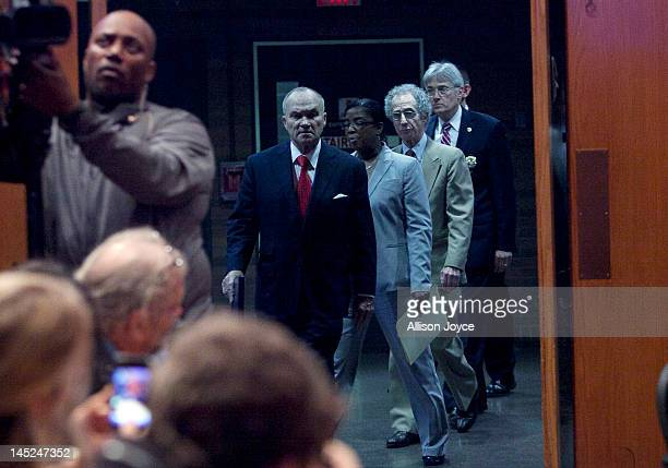 New York City Police Commissioner Ray Kelly arrives for a news conference at Police Headquarters May 24 2012 in in New York City Kelly announced the...