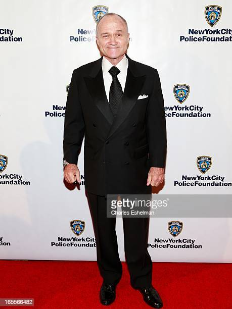 New York City Police Commissioner Raymond Kelly attends 2013 New York Police Foundation Gala on April 4 2013 in New York United States