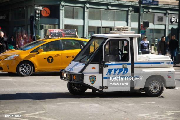 New York City Police Mini Car