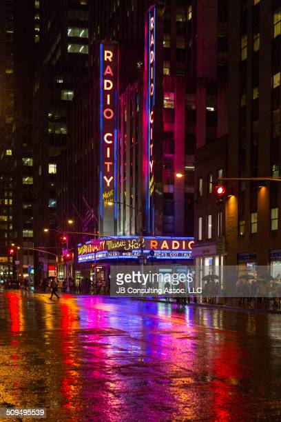 New York City Radio City Music Hall is an entertainment venue located in Rockefeller Center It is a leading tourist destination in NYC Located at...