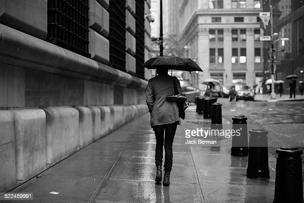 New York City rainy day