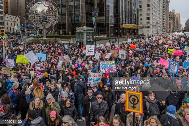 New York City raised its voice again to demand equality for all humans at the 2018 Womens March in NYC Over a hundred thousand New Yorkers took the...