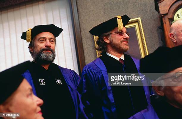 Robert De Niro gets Honorary Doctorate Degree in Fine Arts from New York University