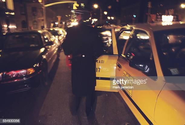 New York City scene on the Upper East side of Manhattan