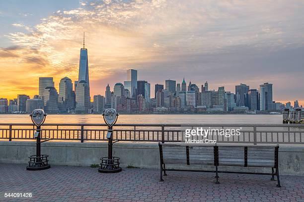 New York City skyline, Liberty State Park, New Jersey
