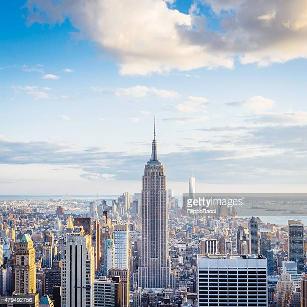 Von New York City Skyline-Midtown und Empire State Building