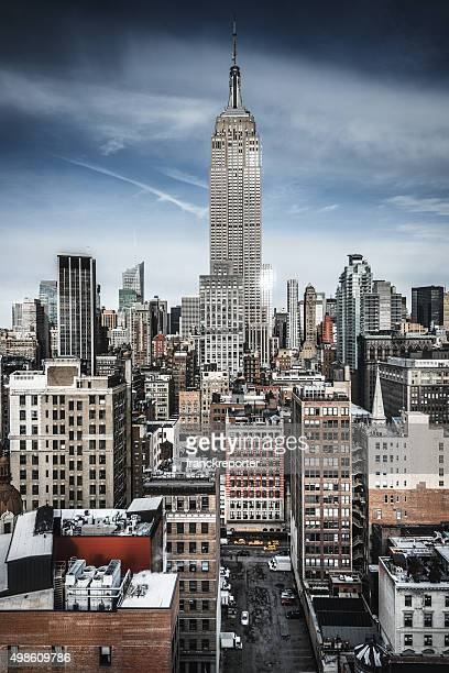 New York City skyline of the midtown