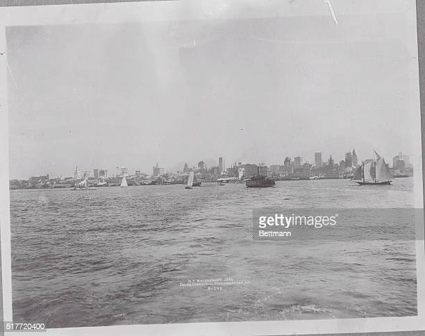 New York City Skyline Photograph between 19101919