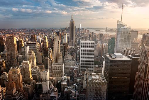 New York City skyline 1129853258