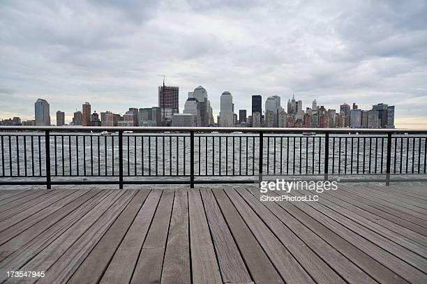ニューヨークシティーの街並み