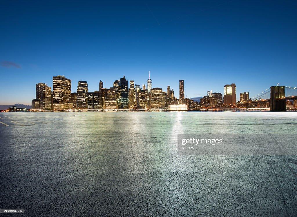 New York City Skyline : Stock Photo