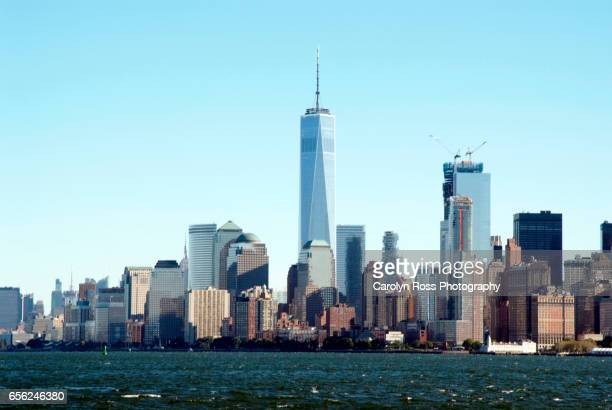 new york city skyline - carolyn ross stock pictures, royalty-free photos & images