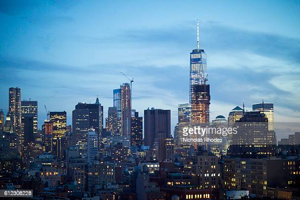 New York City Skyline View from the Annie O Music Series in the Penthouse at The Standard East Village with Cimiotti Mighty Challenger on May 20 2015