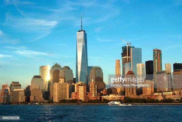 new york city skylne - carolyn ross stock pictures, royalty-free photos & images