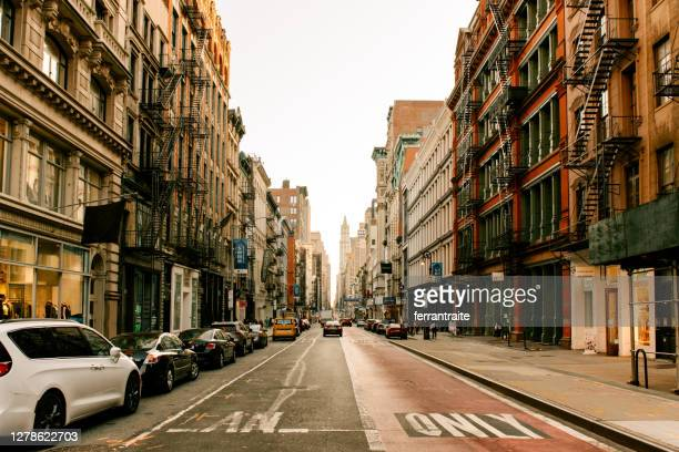 new york city soho - soho new york stock pictures, royalty-free photos & images
