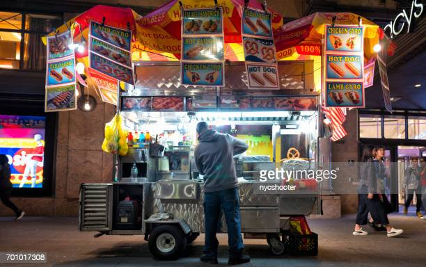 New York City street food cart