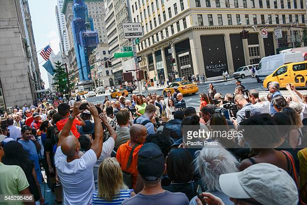 New York City street named after legendary photographer Bill Cunningham Corner of 5th Avenue and 57th