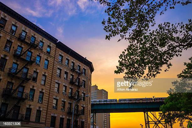 new york city subway - harlem stock pictures, royalty-free photos & images