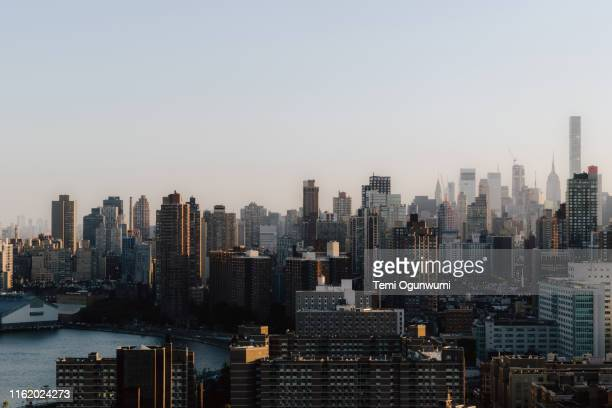 new york city sunset - the bronx stock pictures, royalty-free photos & images