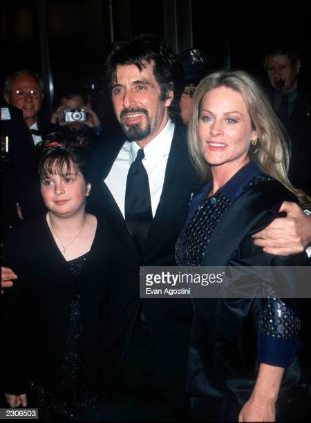 New York City The Film Society of Lincoln Center Gala Tribute to Al Pacino at Avery Fisher Hall Honoree Al Pacino with girlfriend Beverly D'Angelo...