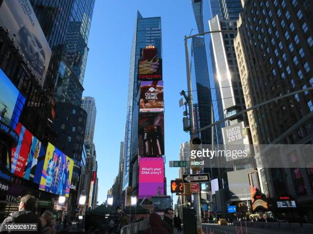 New York City Times Square billboards