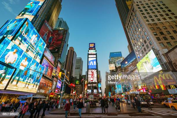new york city times square - new york celebrity stock photos and pictures