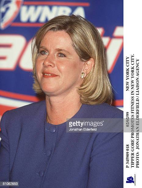 New York City Tipper Gore Promotes Fitness In New York City