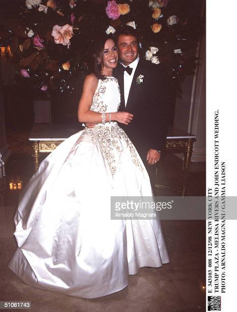 New York City Trump Plaza Melissa Rivers And John Endicott Wedding