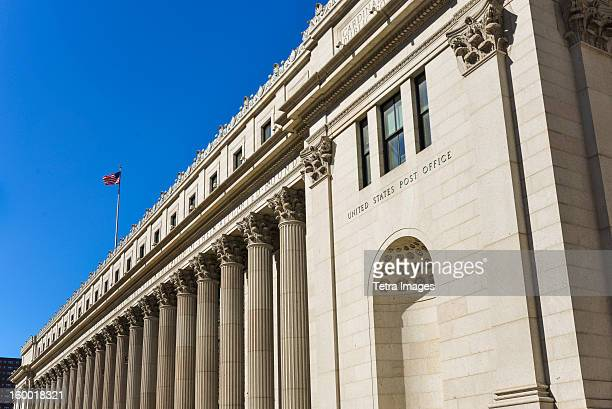 USA, New York City, United states post office
