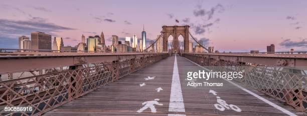 new york city, usa - brooklyn bridge stock pictures, royalty-free photos & images