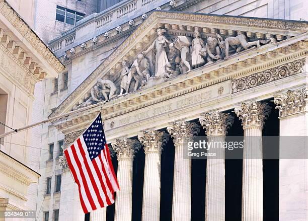 USA, New York City, Wall Street, Stock Exchange