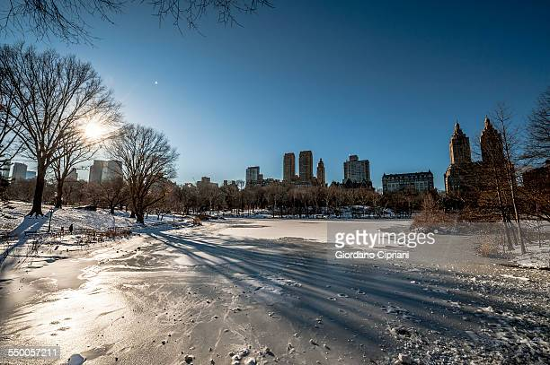 new york city winter - cipriani manhattan stock pictures, royalty-free photos & images