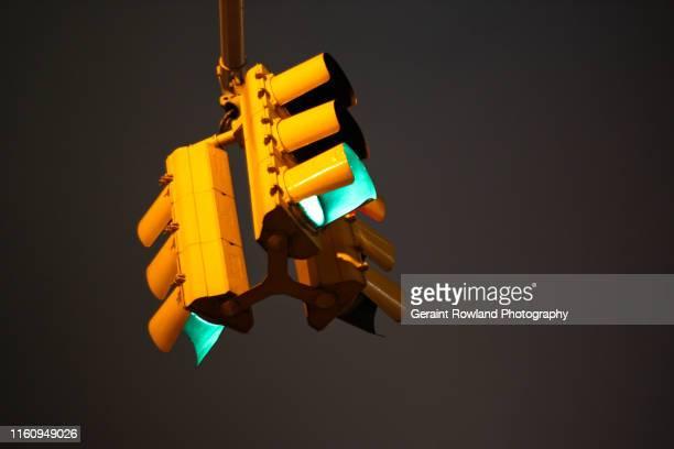 New York City Yellow Traffic Lights