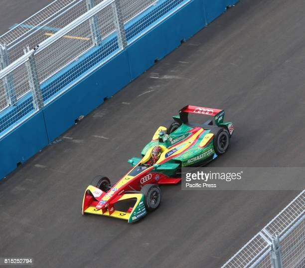 New York City's first ever road race was held in Red Hook Brooklyn as Formula E cars all electric competed racing around a miniature track with an...