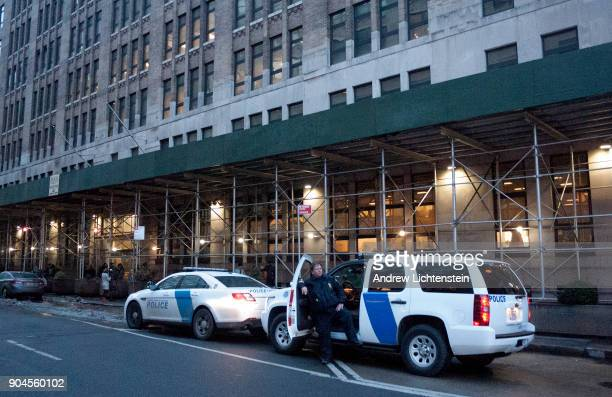 New York City's Varick Street Detention Center where arrested immigrants are held and processed for deportation is part of a large Federal building...