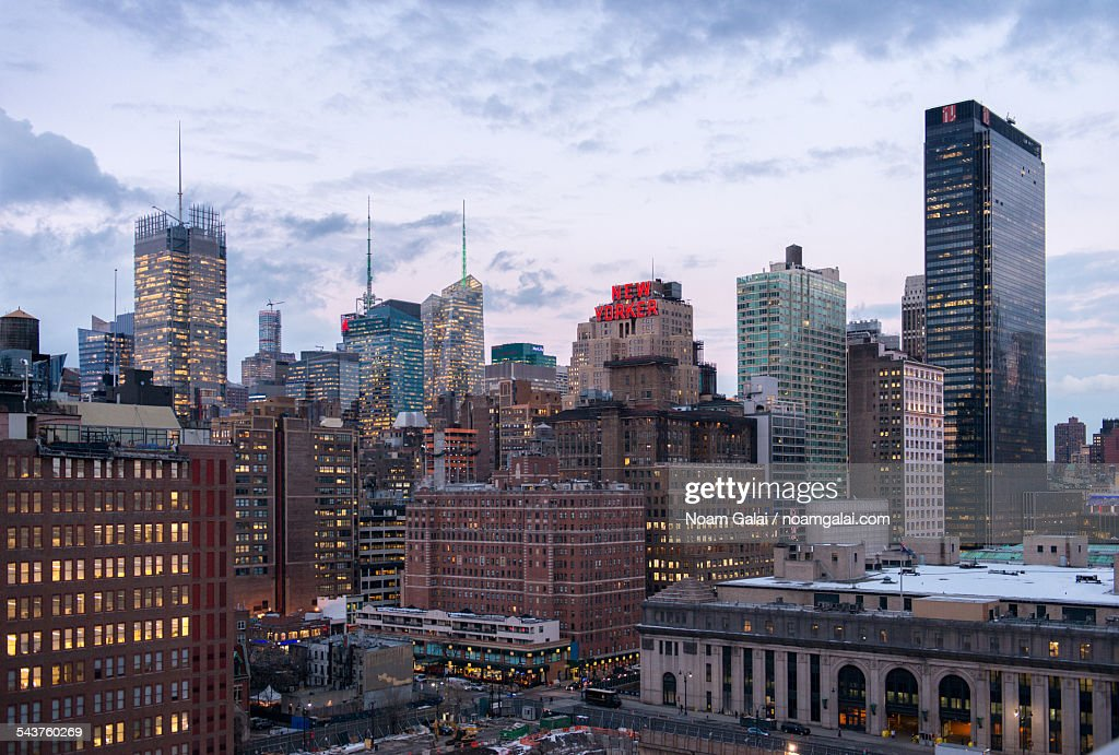 New York City's west side : Stock Photo