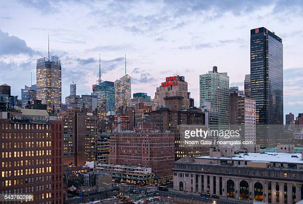 new york city's west side - new yorker building stock photos and pictures