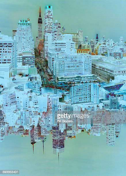 New York cityscape transformed