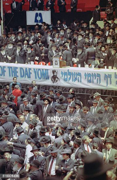 Close to 20000 Orthodox Jews packed Madison Square Garden for what is reported to be the largest gathering of its kind in American Jewish history The...