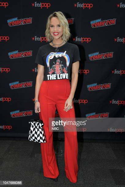 MIDNIGHT TEXAS New York Comic Con 2018 Pictured Arielle Kebbel