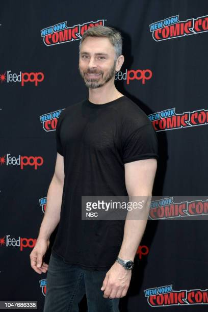MIDNIGHT TEXAS New York Comic Con 2018 Pictured Executive Producer Eric C Charmelo