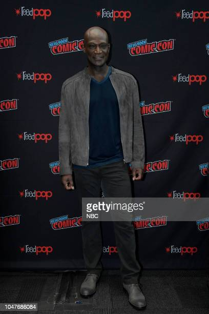 MIDNIGHT TEXAS New York Comic Con 2018 Pictured Peter Mensah