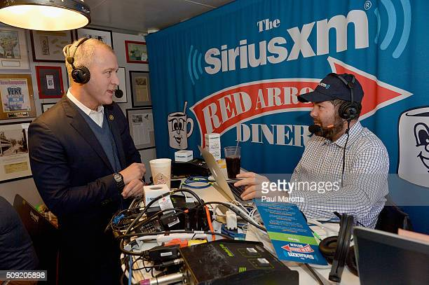 New York Congressman Sean Patrick Maloney is interviewed by Ari RabinHavt at SiriusXM Red Diner Broadcasts from New Hampshire Primary Coverage Live...