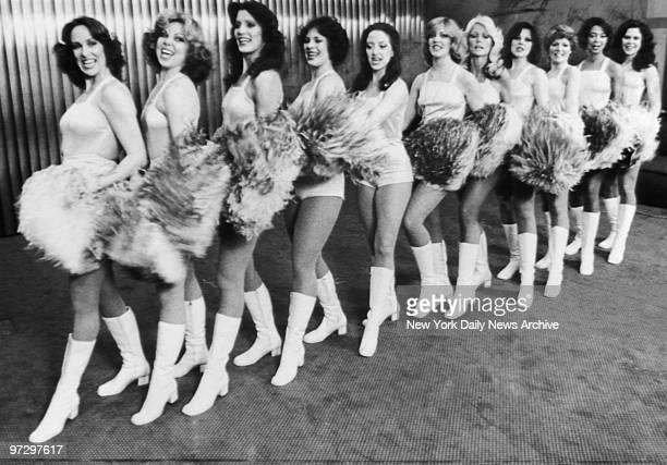 New York Cosmos cheerleaders