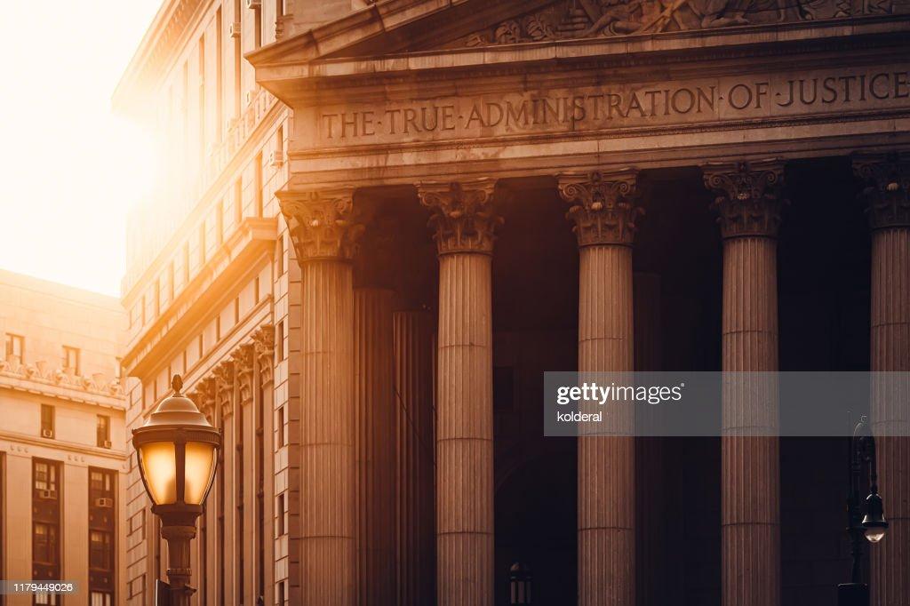 New York County Supreme Court : Stock-Foto